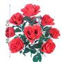 Buquê Botão De Rosa Cores Diversas 42 Cm - Flor Artificial