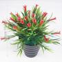 Arranjo Flores Plásticas Diversas Cores 22 Cm - Artificial