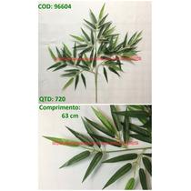 Kit 6 Arvore Planta Artificial Galho Bamboo Bambu 63cm-qx