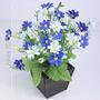 Arranjo Mini Flores 25 Cm Diversas Cores - Flor Artificial