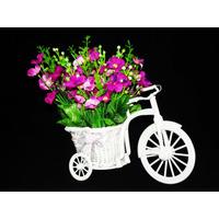 Arranjo De Flores Artificiais - Artificial Vasos Rosas B C