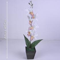 Arranjo Galho Orquídea 46 Cm - Flores Artificiais