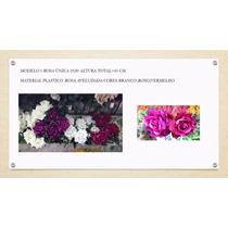 Rosas Artificiais Decoração De Festas,casamentos, Vermelha