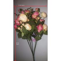 Arranjo De Flores Artificiais - Rosas (médias)
