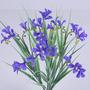 Buquê Plástico C/ Flores 32cm D.cores (0077) Flor Artificial