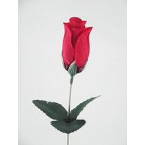 ** 50 Rosas Artificiais Em Botão - Artificial Flores Flor