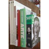 Combo Tudo Sobre Arte: 7 Livros Edições Luxo - Frete Grátis