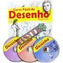 Curso Básico De Desenho Livro + 3 Dvds Editora Escala