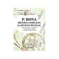 P. Bona Método Completo De Divisão Musical
