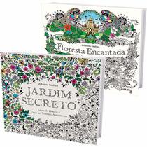 Jardim Secreto + Floresta Encantada - Especial Desconto!