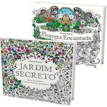 Jardim Secreto + Floresta Encantada Melhor Preço Frete 15,00