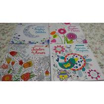 Livros Para Colorir - Kit Com 04 Livros Para Colorir
