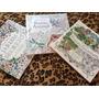 Livro Jardim Secreto + Floresta Encantada + Reino Animal -
