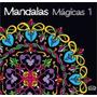 Mandalas Mágicas 1 Livro Colorir Depressao Nina Corbi