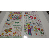 Livros Para Colorir - Kit Com 04 Livros Antiestresse