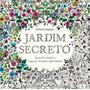 Jardim Secreto Livro De Colorir - Brinde Caixa 12 Lápis Cor