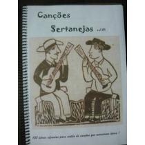 Caderno/pasta De Letras/cifras Sertanejo/religioso