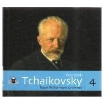 Coleção Globo De Música Clássica -tchaikovsky Volume 4 C/cd