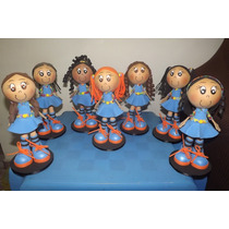 Bonecas Chiquititas Em Eva 3d
