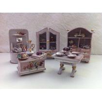 Moveis Miniatura Casa De Boneca Dollhouse. Leia Descricao!!