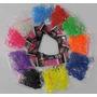 Rainbow Loom Refil 24000 Elásticos+1200fechos+170ganch+2tear