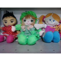Boneca Pano Artesanal Musical Dia Das Crianças E Lembrança