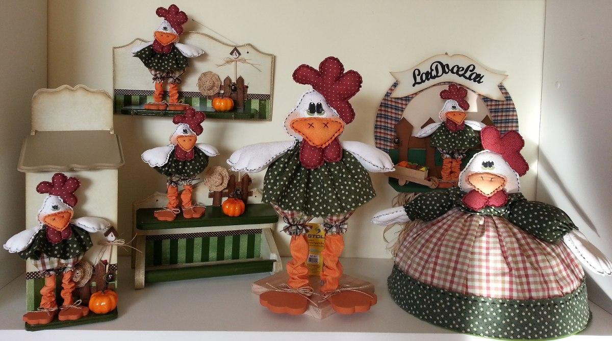 Armario Rustico Colonial ~ Artesanato Kit Cozinha Madeira Patchwork Pintura R$ 374,00 no MercadoLivre