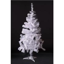 Árvore De Natal Pinheiro Canadense 1,20m Branca