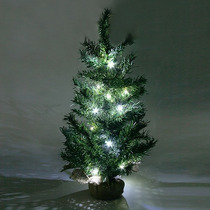Árvore De Natal De Mesa Com Pisca - 60cm Promoção