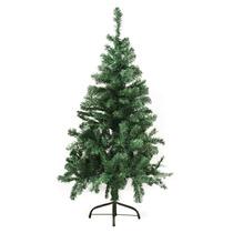 Árvore De Natal Pinheiro Suiço 1,2m Com 220 Galhos, Verde