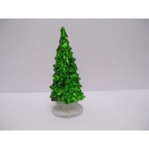 Enfeite Árvore De Natal Led 14 Cm Acrilico Com Glitter
