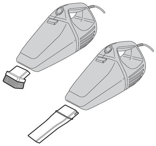 Aspirador / Soprador De Pó Portátil 750w - Black & Decker
