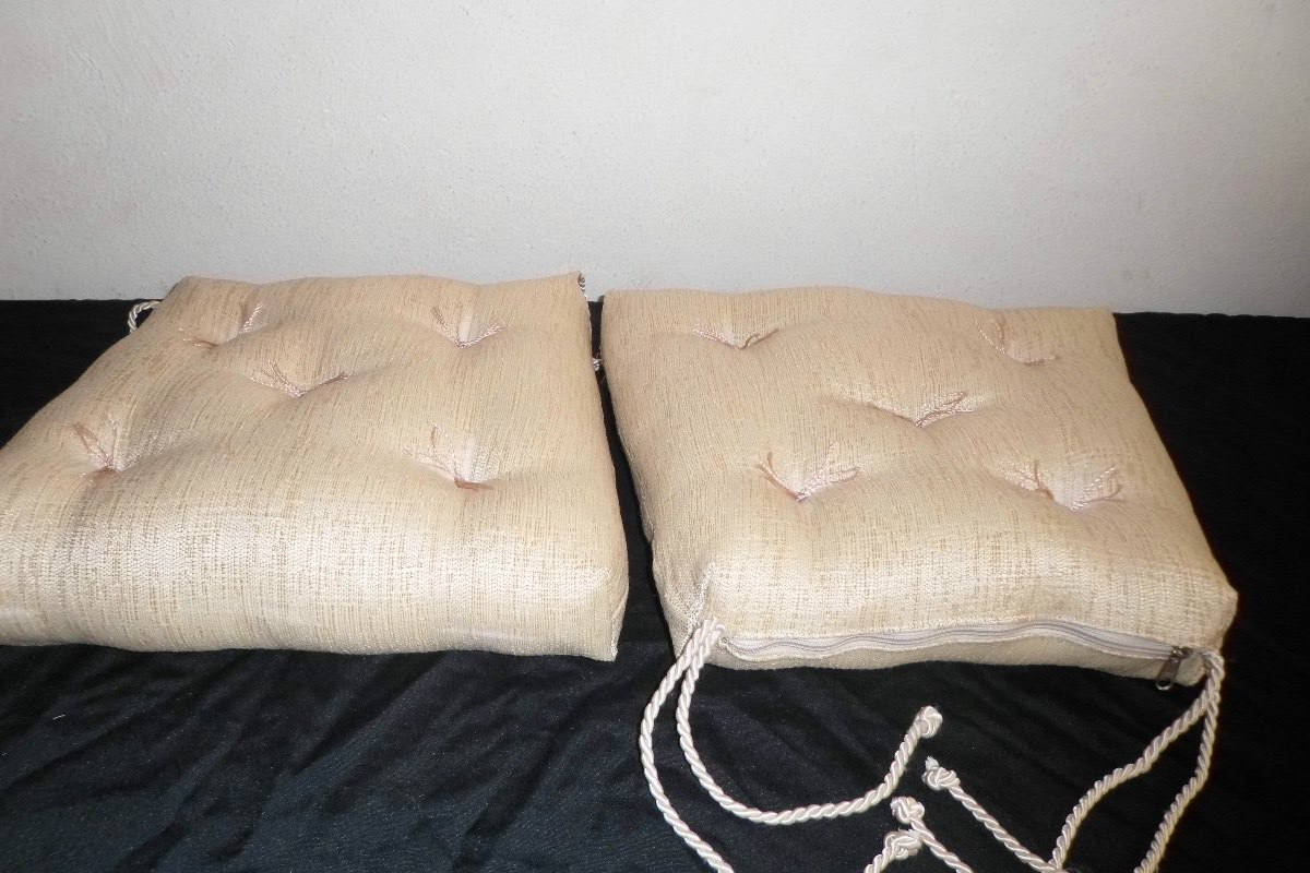 Assento Futon almofada Para Cadeira banco Madeira sob Medida R$ 65  #826849 1200x800
