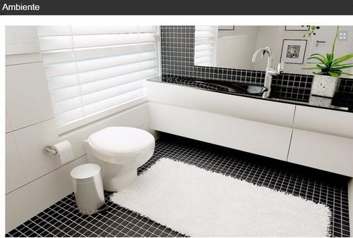 Assento Sanitário Cor Bege Almofadado Tampa Vaso De Banheiro  R$ 50,77 no Me # Decoracao De Banheiro Na Cor Bege