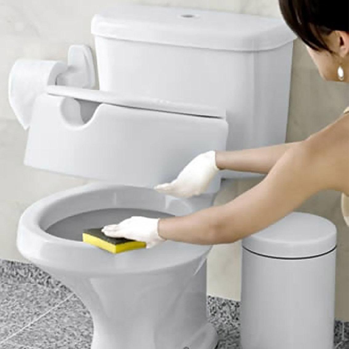Assento Sanitário Elevado E Tampa Para Idosos E Deficientes R$ 89  #B39E08 1134x1134 Assento De Banheiro Para Idoso