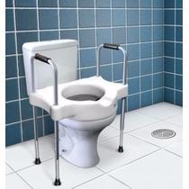 Elevador Assento Vaso Sanitário C/ Alças Reguláveis Idoso