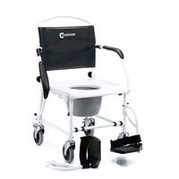 Cadeira De Rodas 3 Em 1 Banho Higiênica Coletor Sanitário