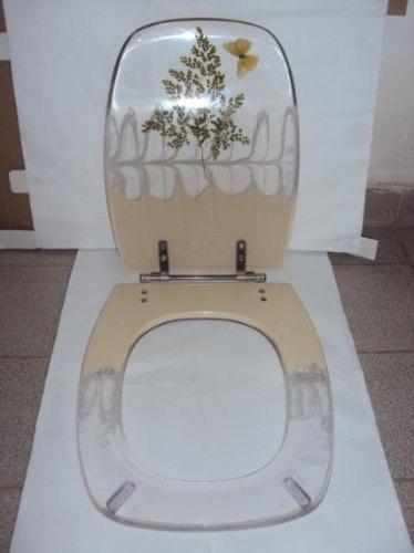 Assentos Sanitário Em Resina De Poliester Mod Stylus Celite  R$ 150,00 no M -> Cuba Para Banheiro Em Resina De Poliester