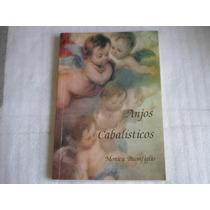 Livro Anjos Cabalisticos De Monica Buonfiglio Edição 1993