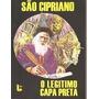 Livro São Cipriano - O Legitimo Capa Preta
