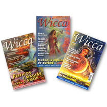 Lote Com 3 Revistas Wicca - Feitiços, Mágias E Rituais