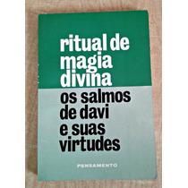 Livro Ritual De Magia Divina Pensamento Editora