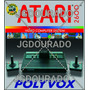Arte Caixa Atari 2600 Polyvox