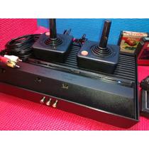 Atari 2600 Completo 2 Controles Mais Saída Av Mais 5 Jogos