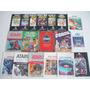 Atari 2600 : Lote Com Vários Manuais E Catalogos Originais