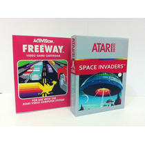 Mini Caixas Para Cartuchos De Atari 2600.