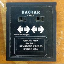 Fita Do Dactar Modelo Atari De 4 Jogos