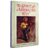 The Spirit Of American Wit Pensamentos Franklin Lincol Livro