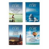 Coleção Augusto Cury | 4 Livros Inéditos | Novos