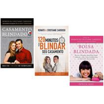 Kit Livros Casamento Blindado 120 Minutos E Bolsa Blindada
